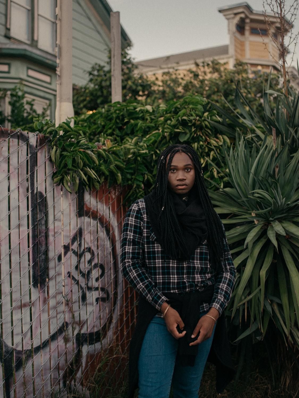 Azaj, 17, transgender girl, Oakland
