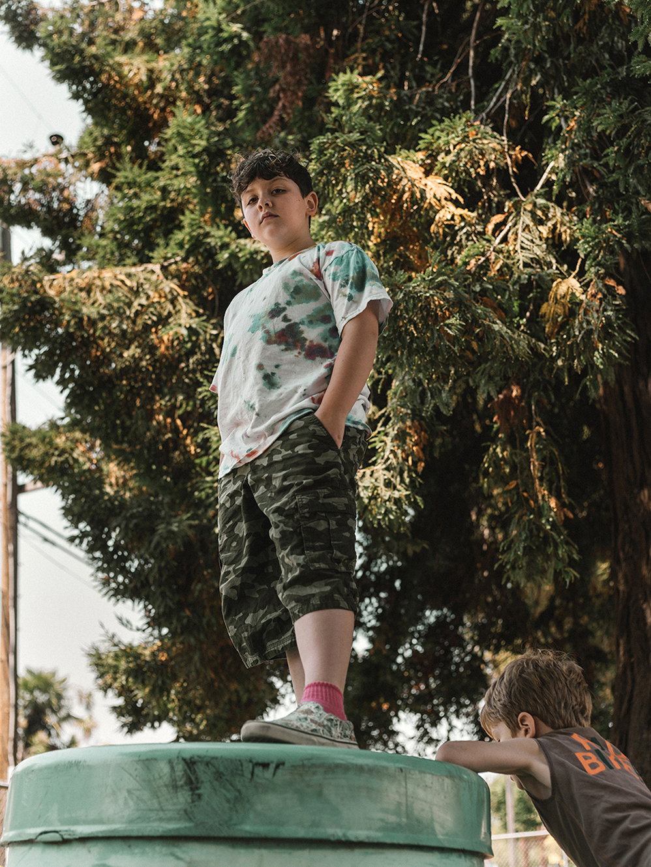 James,8, transgender boy, Bay Area California