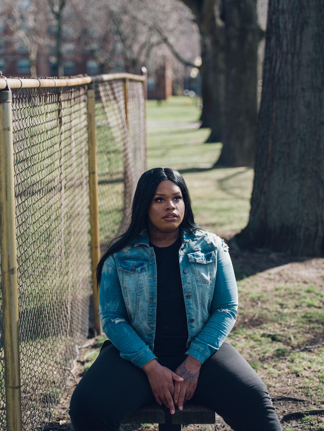 Chanel, 19, Queens, NY. Transgender girl