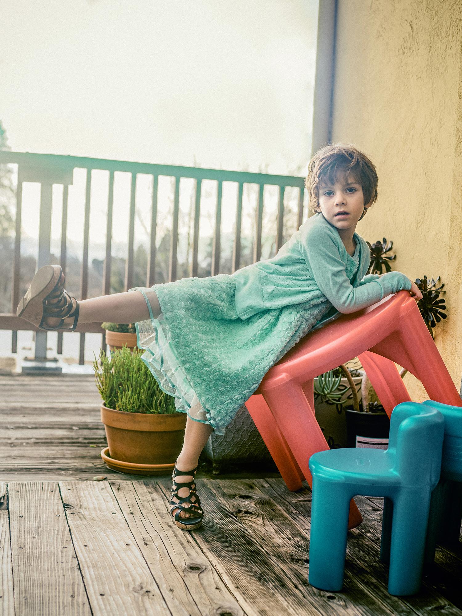 Charlie*, 4, Bay Area, California, transgender girl.