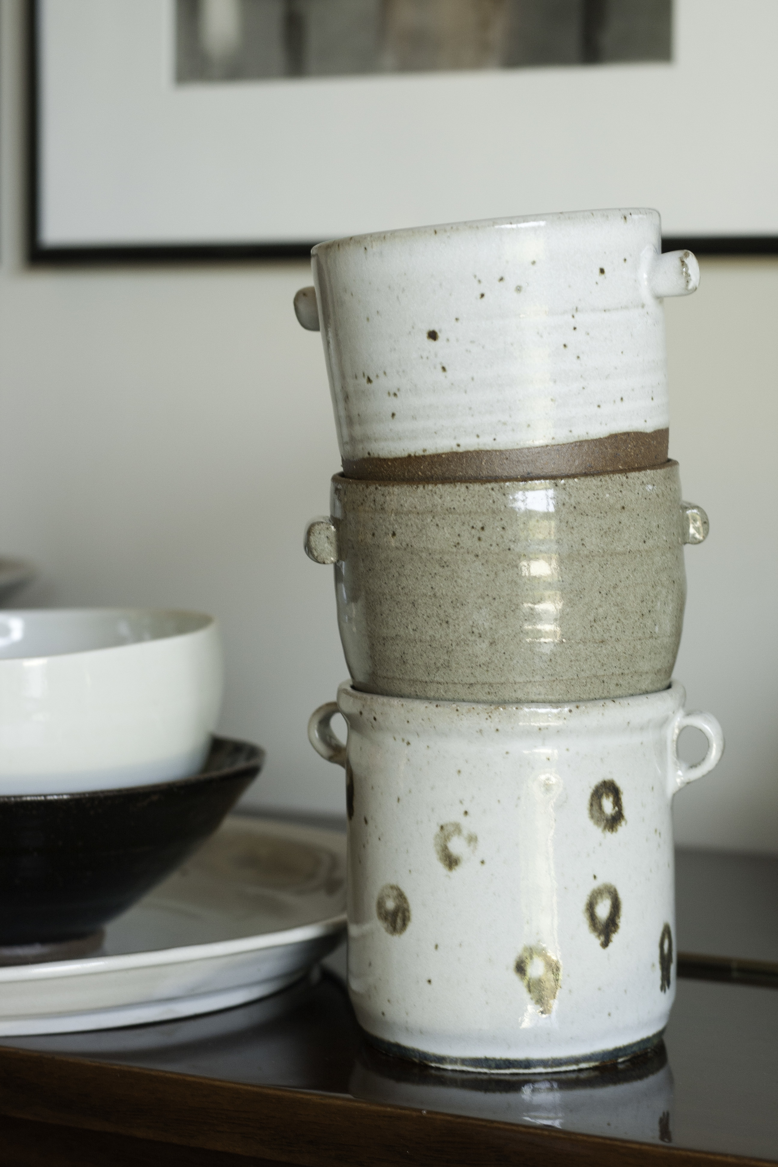 Stack of Pots - D Pottery