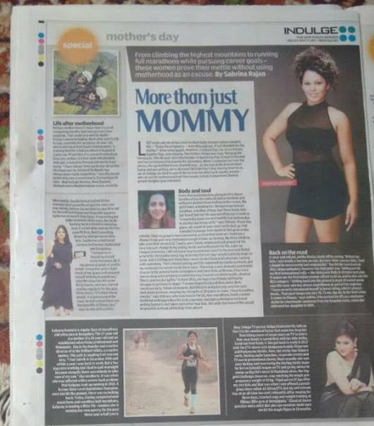 Article in Indulge Express