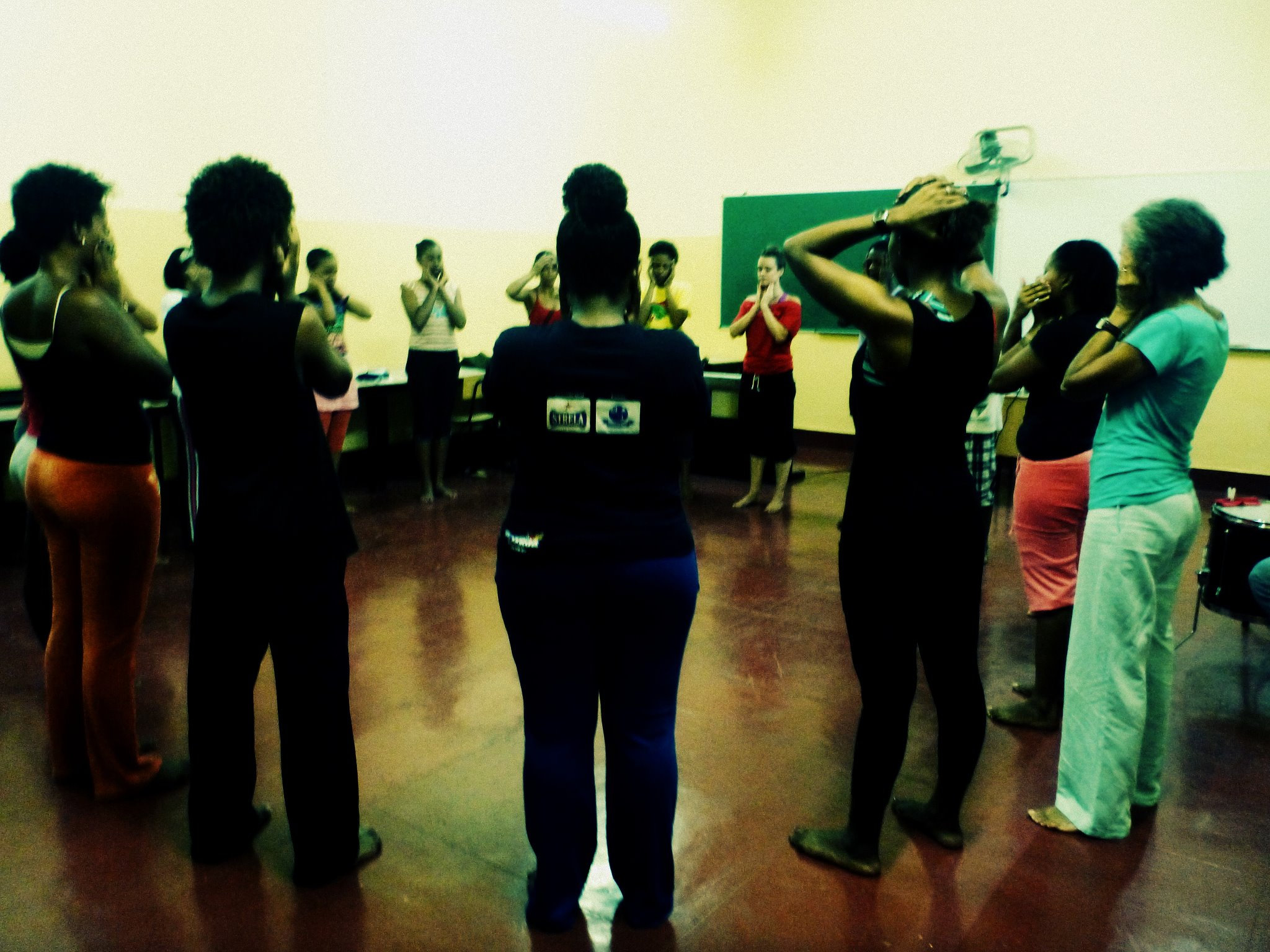 Voice and movement workshop
