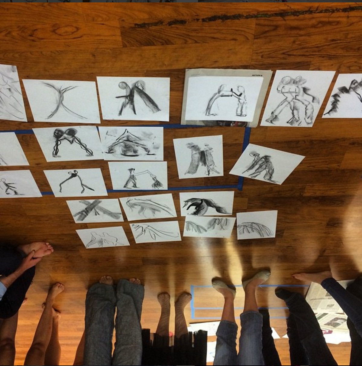 Arts integration, Dance and Art, work of art