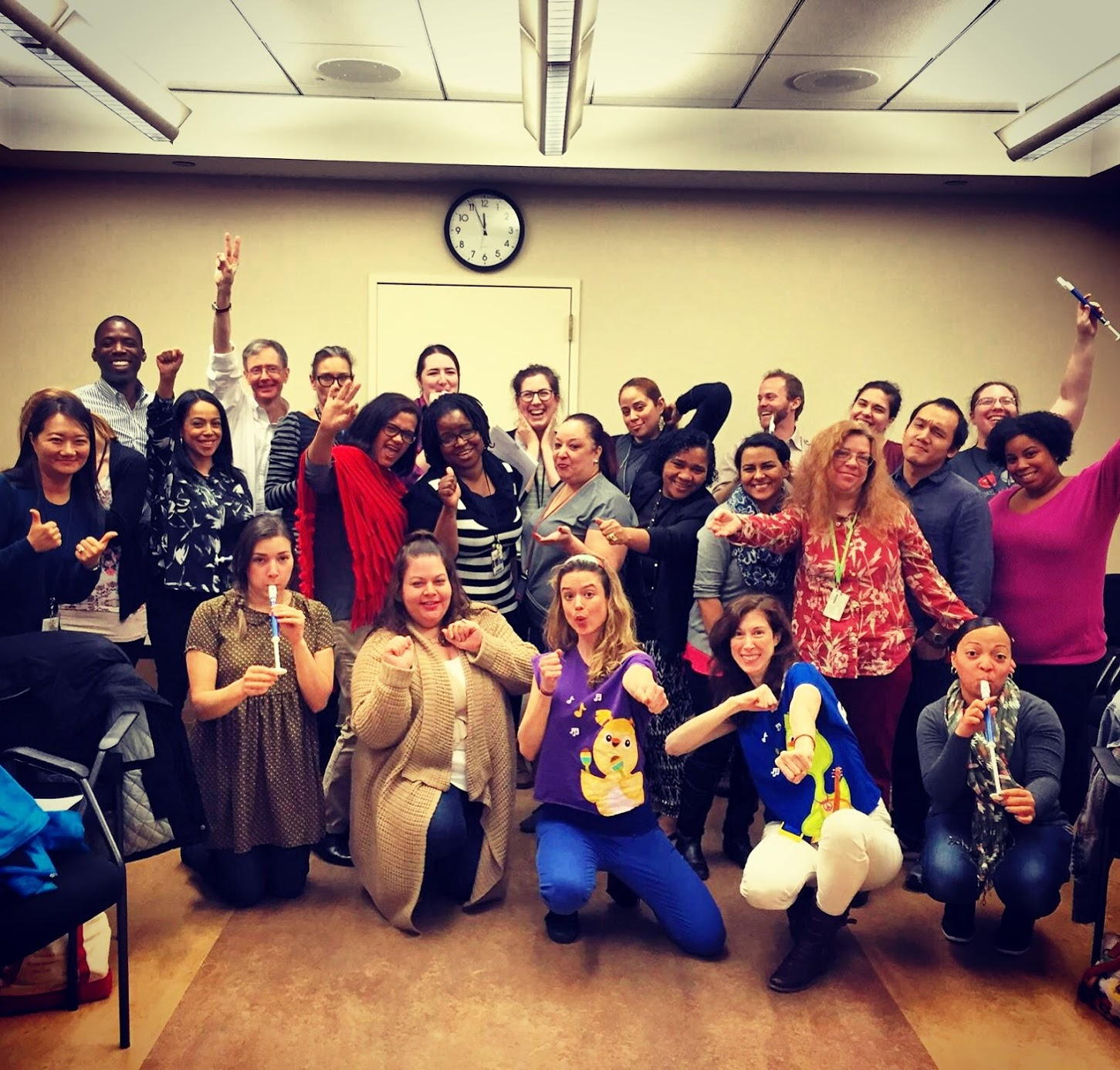 Teaching NYPL librarians how to incorporate music and dance