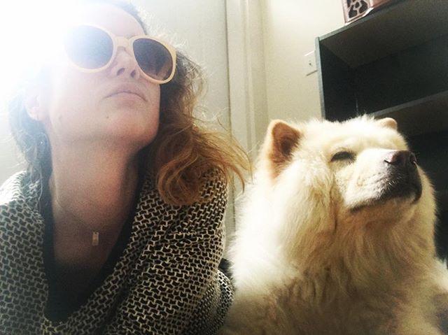 synchronize elite posing with my new roommate, Ivory. #bonding. (@dictatorofchina :))