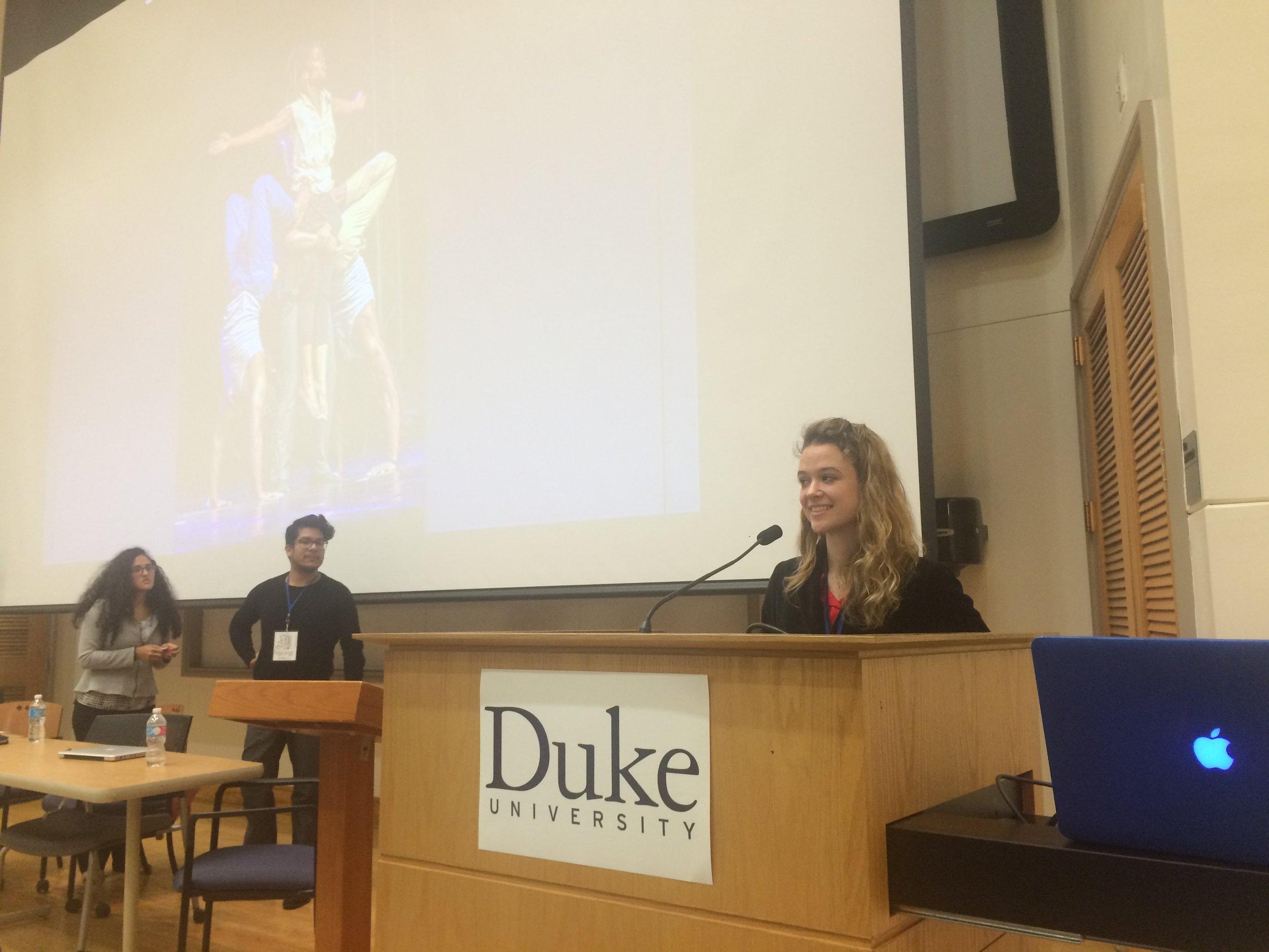 Duke University Guest Teaching