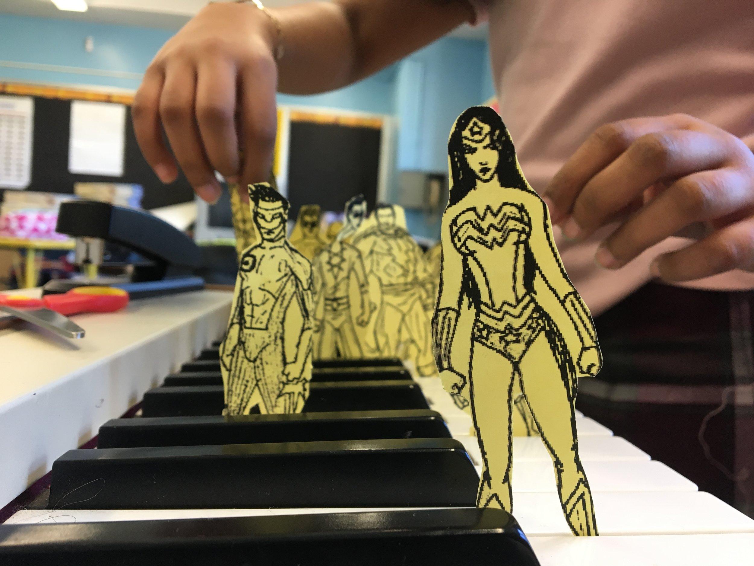 superhero songs with cartoon