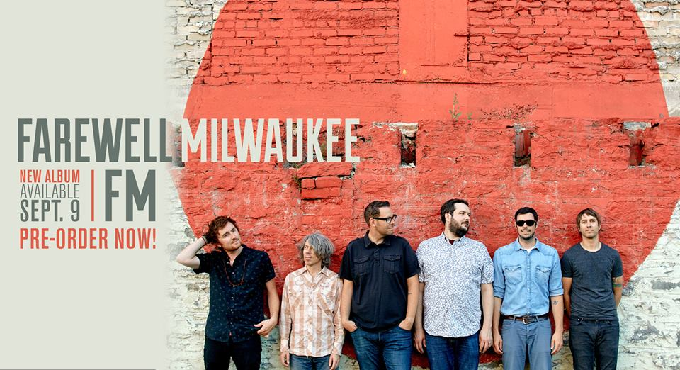 "Farewell Milwaukee's fourth full length album ""FM"" will be available 9/9! You can pre-order now and pick up a free download!  PRE-ORDER HERE"