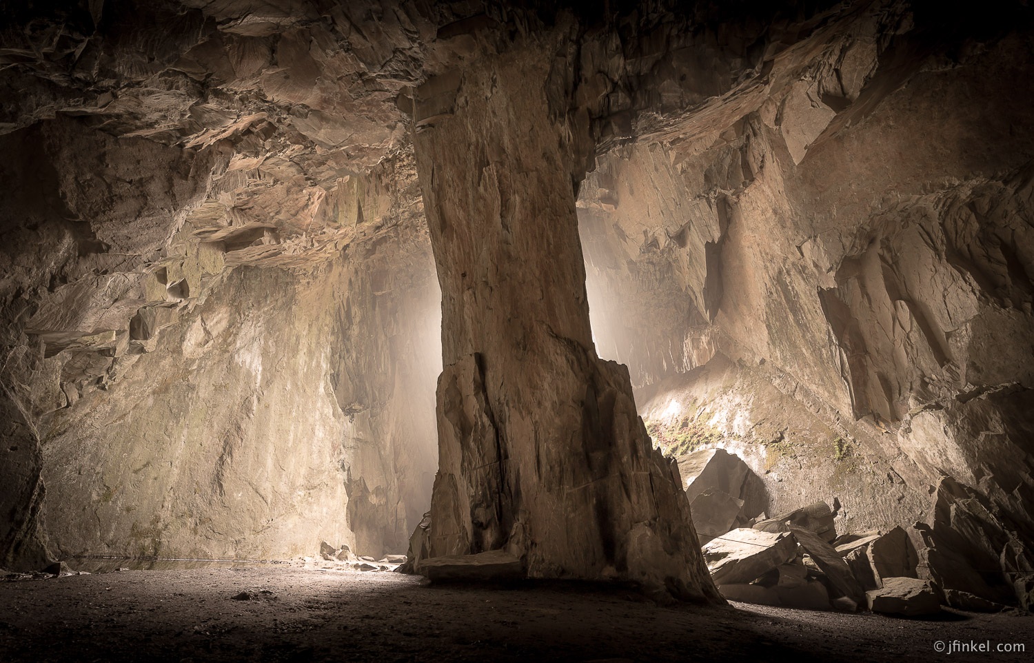 Cathedral Cavern, England