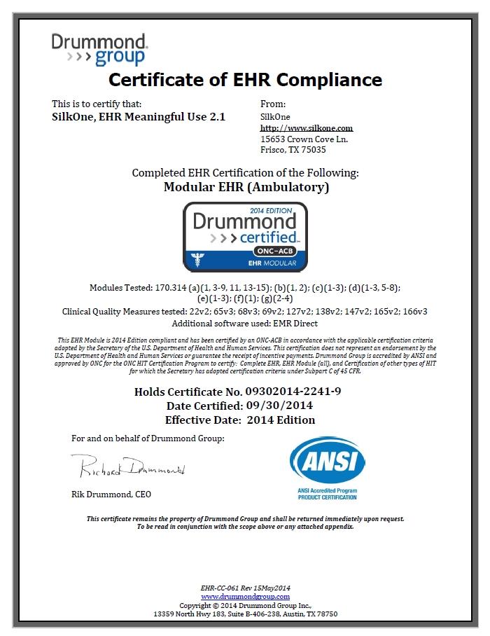 SilkOne_Complete_Compliance_Certificate_Rev_A.119180600_std.jpg