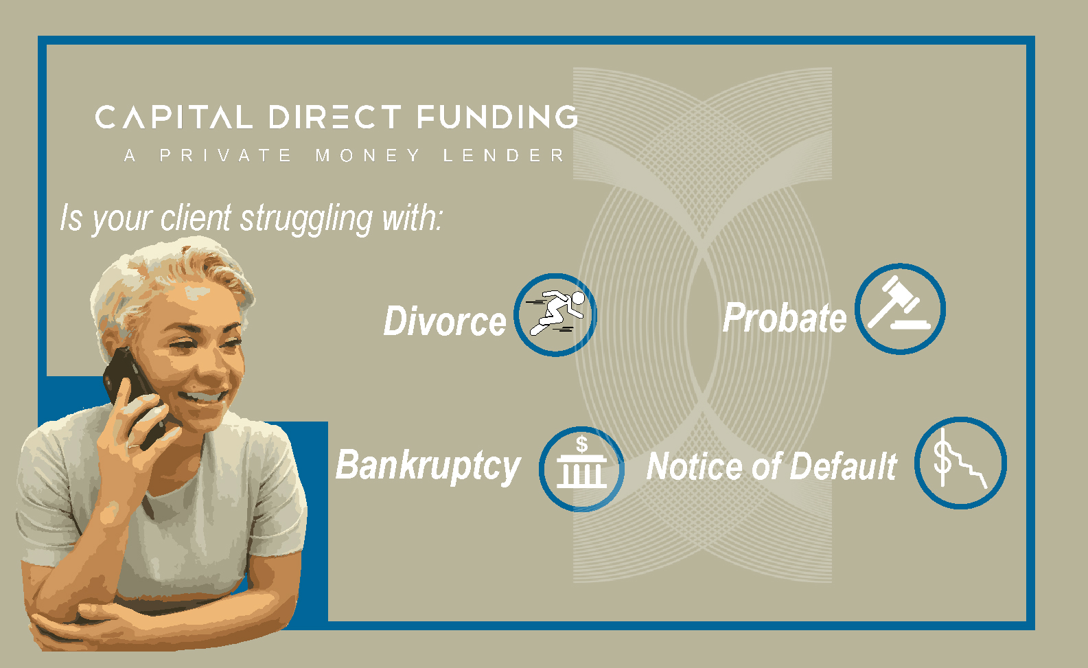 #CrisisSituations - Here at Capital Direct Funding, we handle unique transactions we are no stranger too.We excel in handling these types of transactions because we close so many.