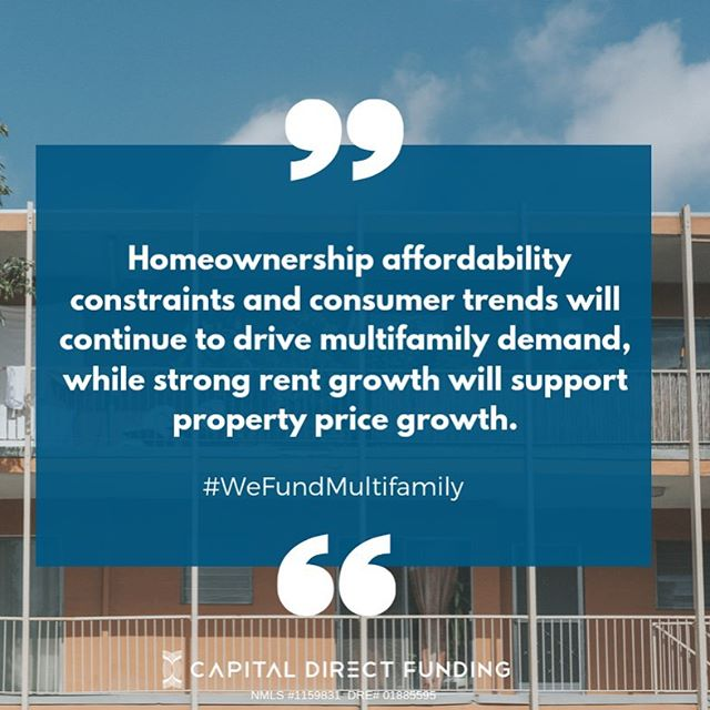 #FreddieMacs Multi-Family Report  has us feeling optimistic about the market 🏘️🏢  What do you think ?? Comment below 👇  #CDF #wemakeloanshappen  #weFundCommercial #trustCDF  #privatemoney #lender #CRE _______________________________________ Sandra Williams I Co-Founder Capital Direct Funding Inc.  📱626-893-5170  ☎️ 626-796-1680  📧 sandra@capitaldf.com  NMLS:1159831  DRE:01885595