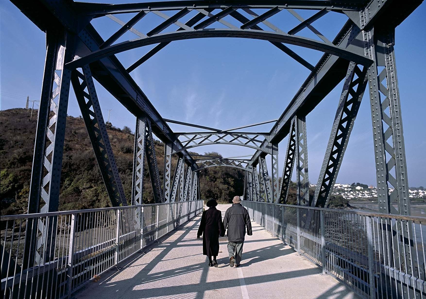 The Iron Bridge, Camel Trail