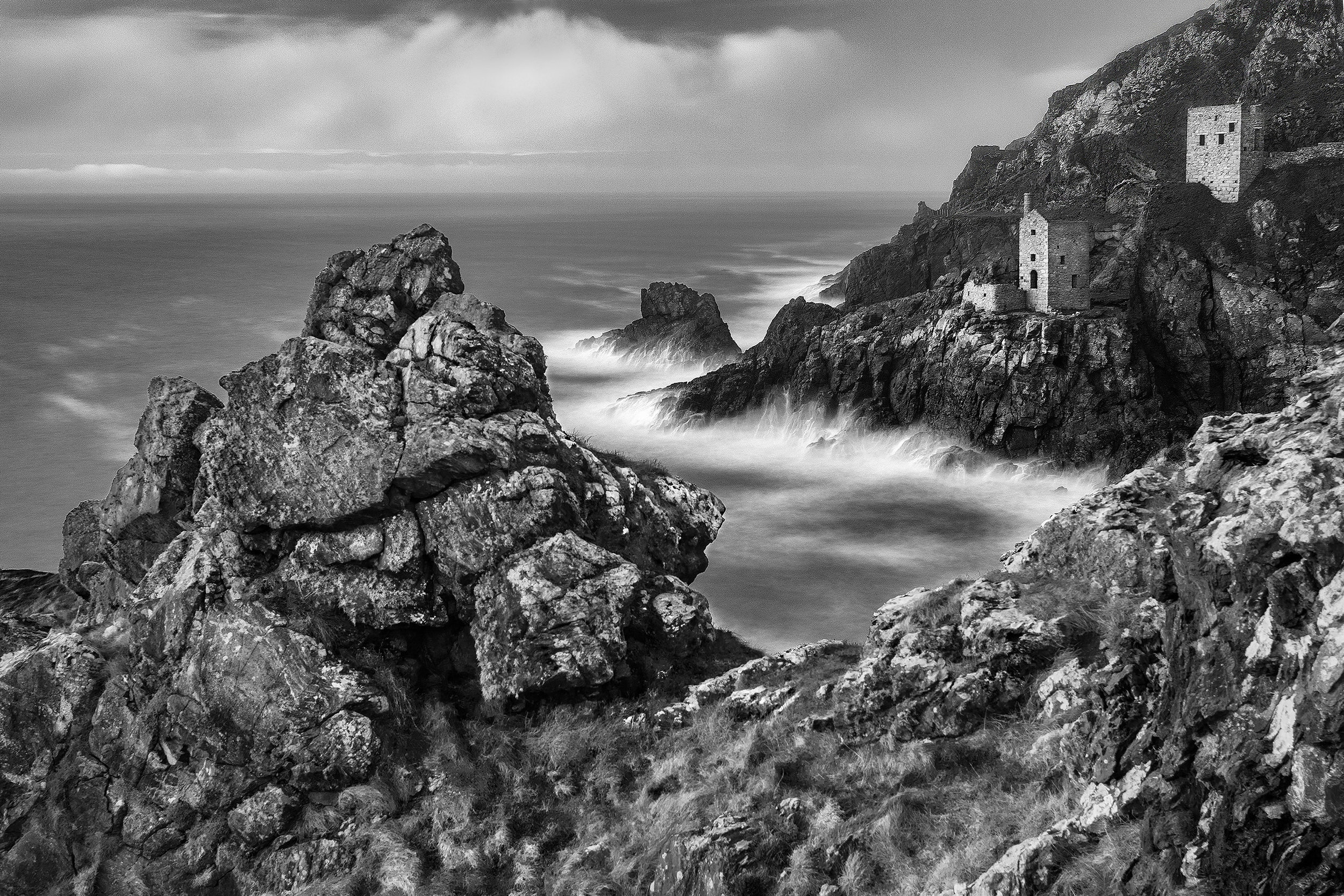 The winning image of the calm before the storm at Botallack by Sophie Green