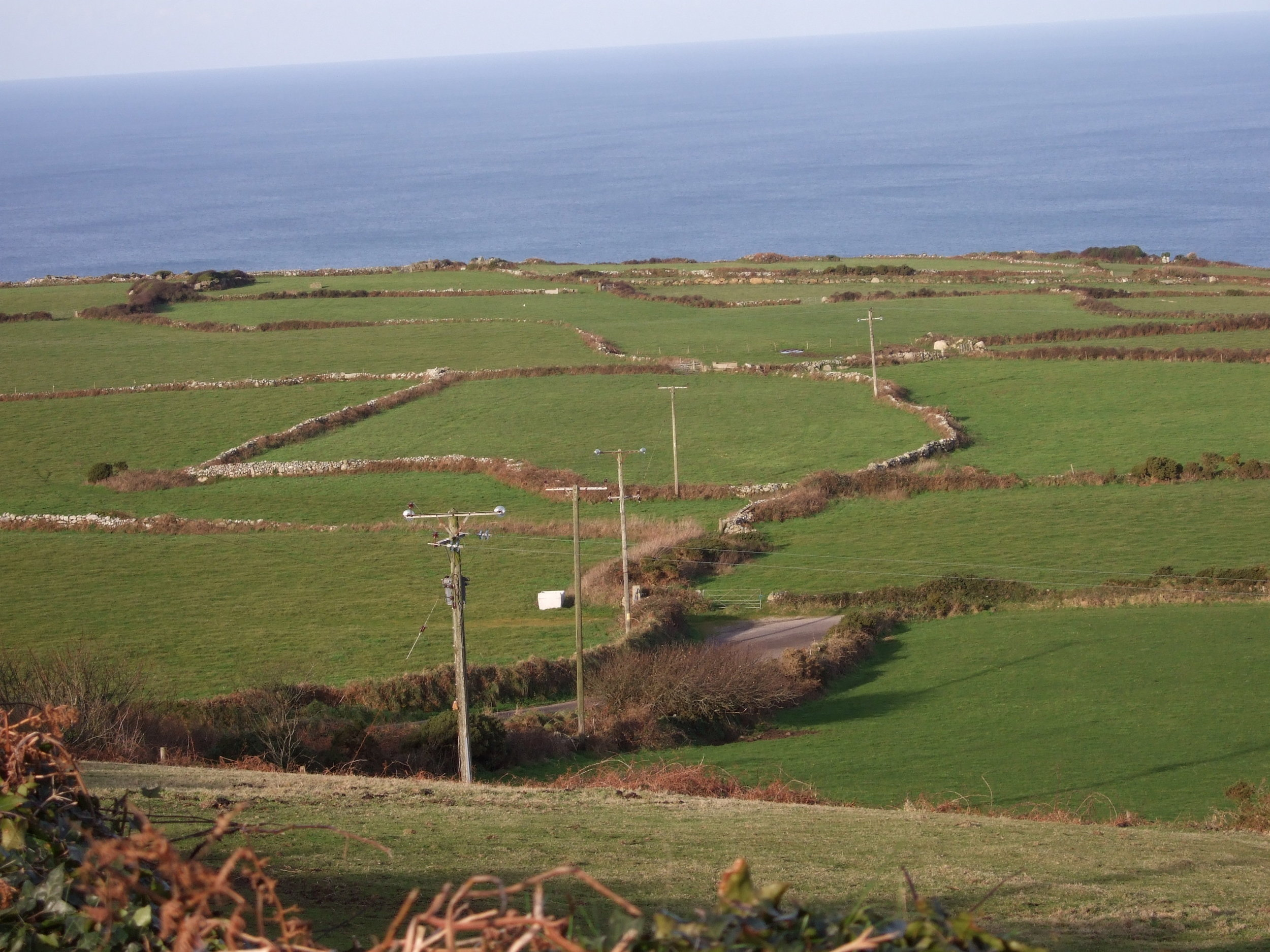 The wirescape at Zennor