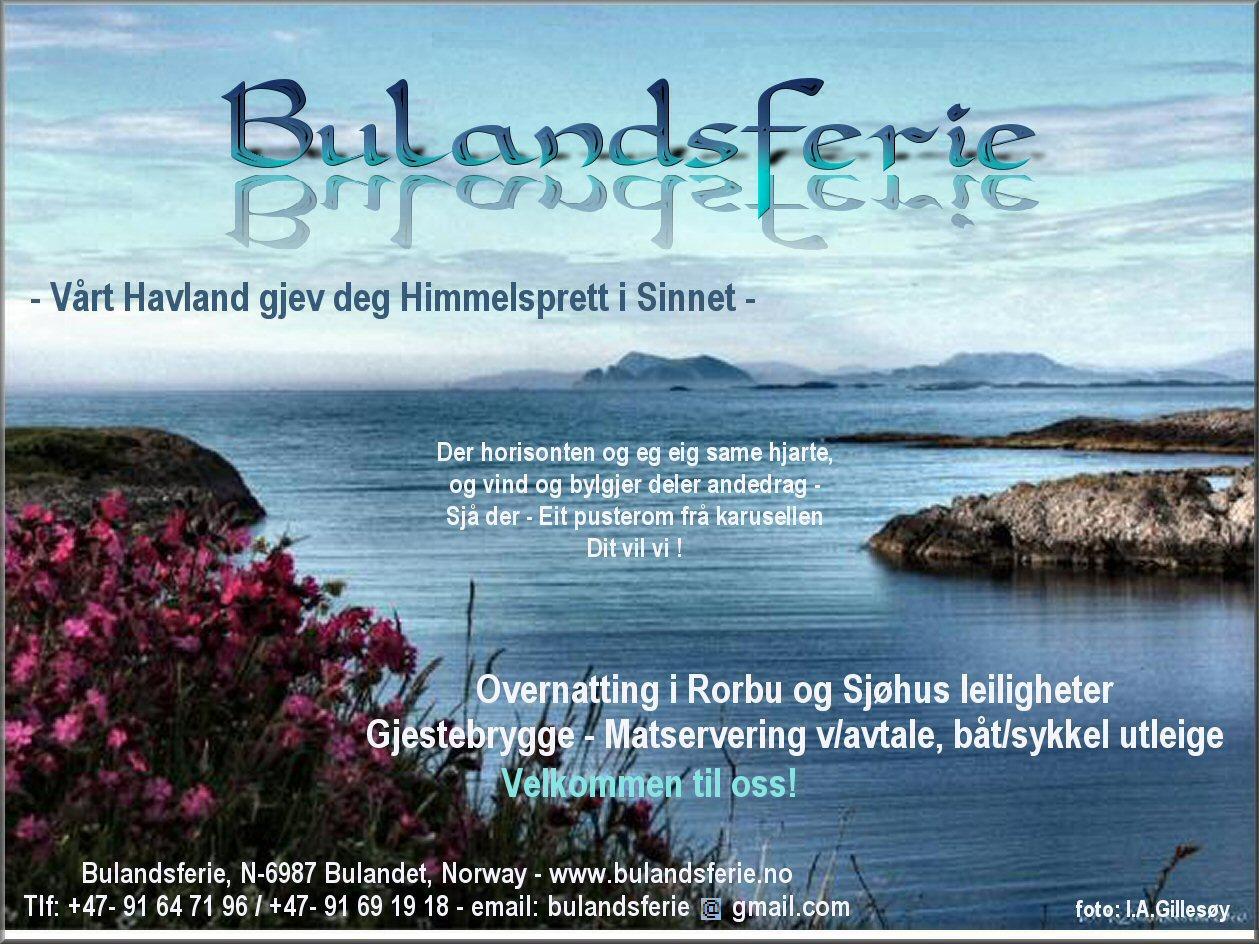 Pernillestø Gjestehamn, Bulandet