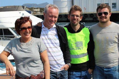 Komitèen 2013: Bente Sandøy, Fred Rogne, Daniel Fedøy og William Rogne. Bildet er lånt frå Firda si  nettside  .I tillegg til desse 4, har Kristin Nikøy og Antanina Melvær vore med i komitèen :)
