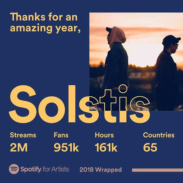 Thanks for listening. 2018 was an amazing year for us.