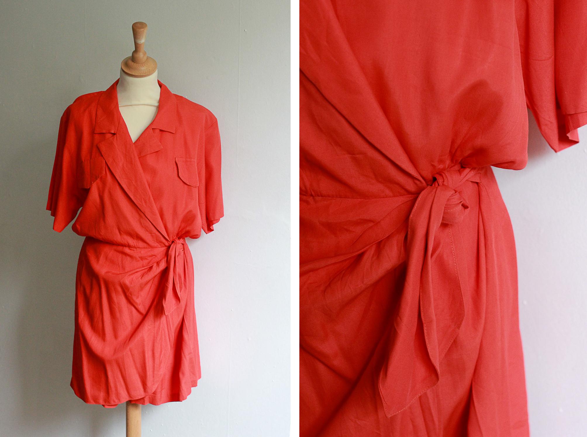 vic_&_lily_vintage_red_wrap_jumpsuit