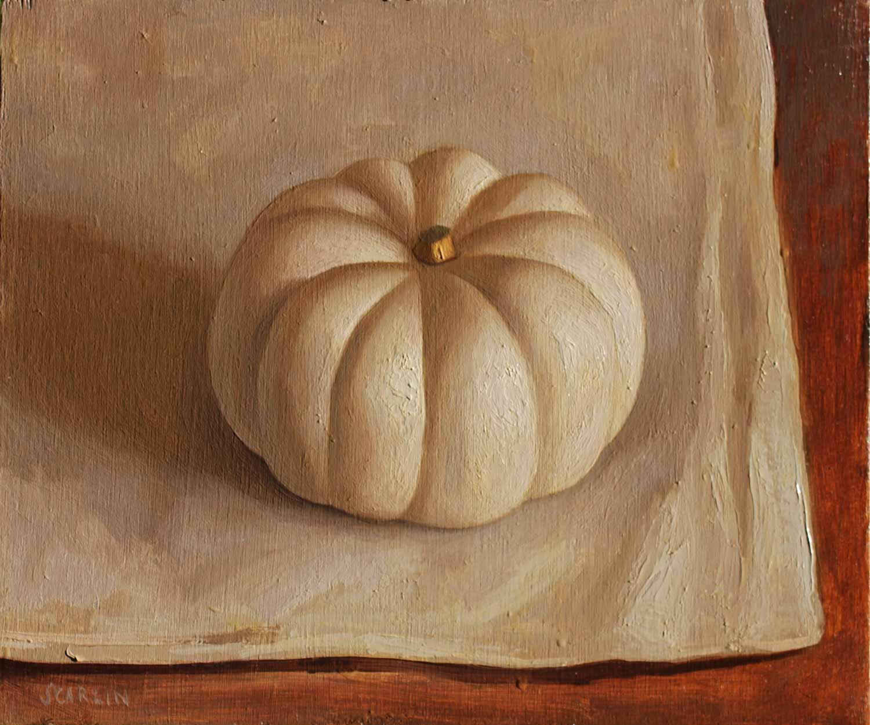 Pumpkin   Oil on Panel 30 x 25cm R6 400
