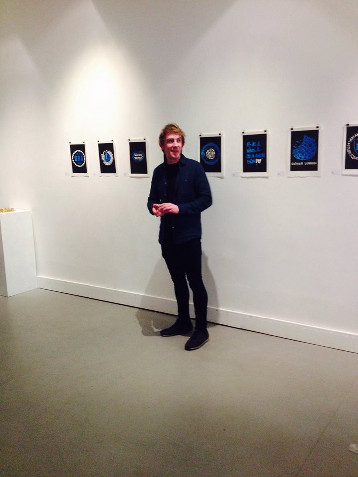 Limerick artist Eoin Barry. Photo courtesy Emer Casey, Limerick Printmakers