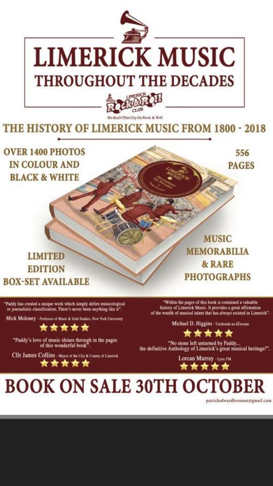 Limerick Music Throughout the Decades by Paddy Brennan