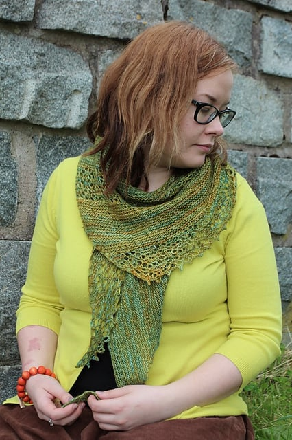 Nurmilintu by Heidi Alander from Ravelry (photo used with kind permission)