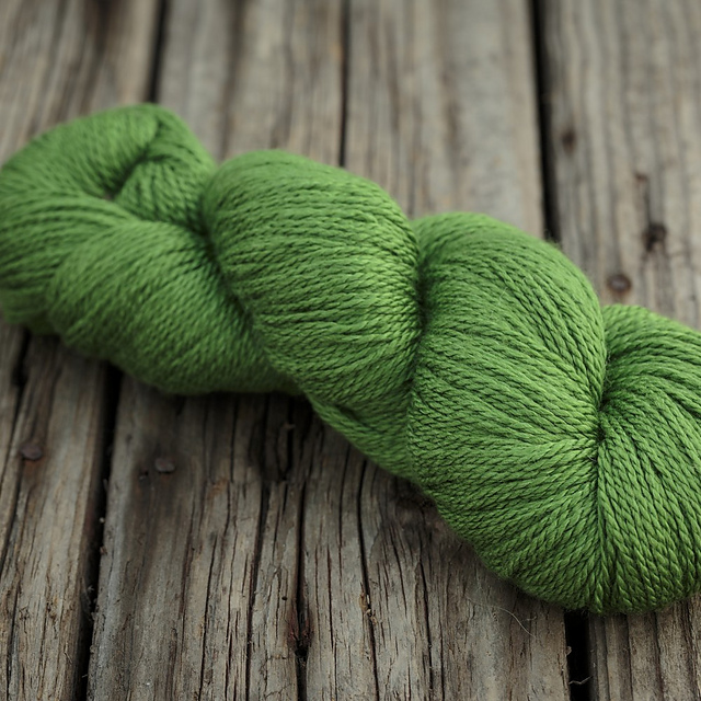 Scrumptious 4ply in Jen's Green - named after Jen!