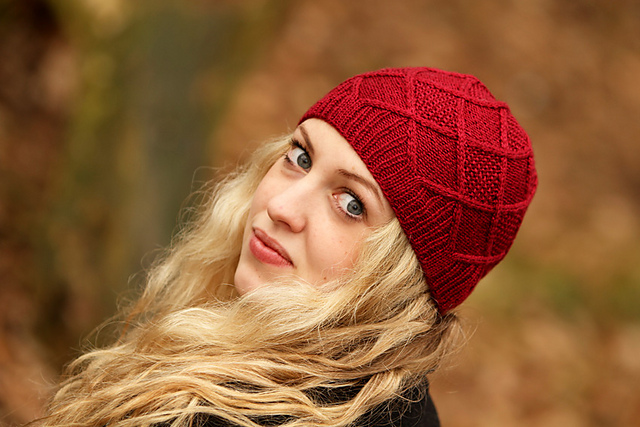 Arncott in Scrumptious 4ply, which made the front cover of our first book, The Scrumptious Collection Volume 1