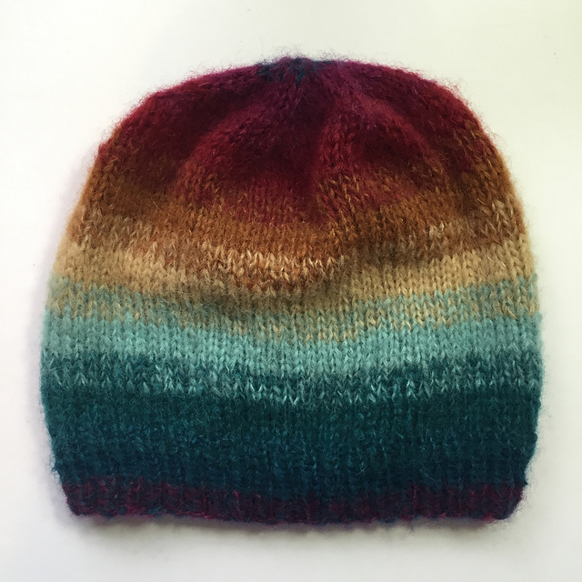 charliesumx's Becloud Hat of many colours