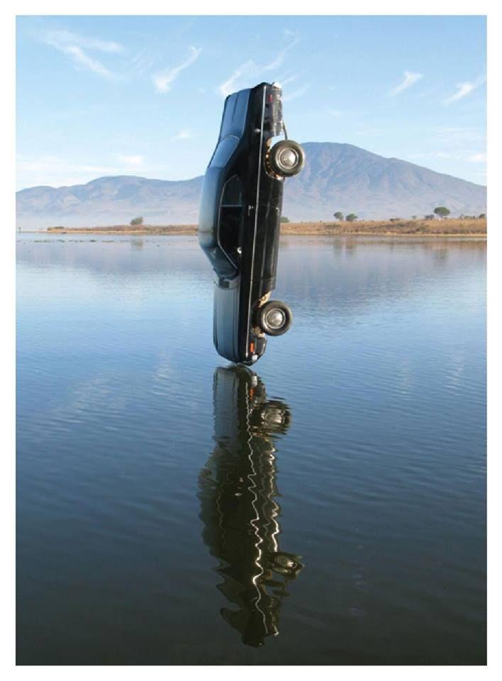 Lebrija's diving car