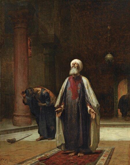 Frederick Bridgman The Prayer