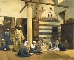Ludwig Deutsch's 'In the Madrasa', 1890.