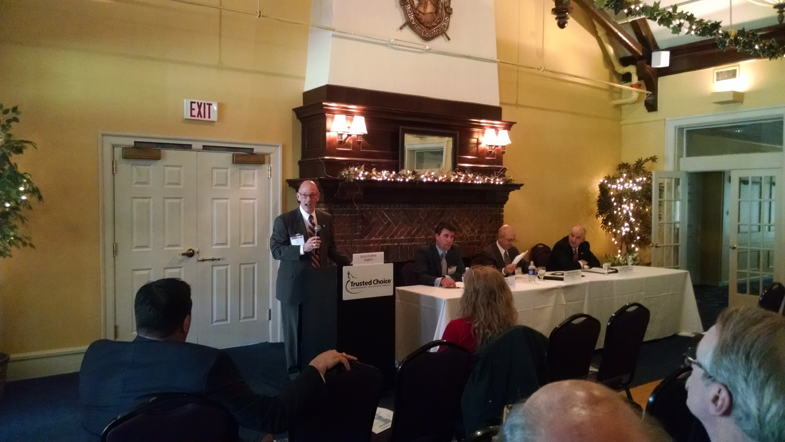 IIACNY Annual Company Panelists (right – left) Moderator - Dick Poppa, IIABNY President & CEO, Joe Headd, Mark Berger & Phil Lewis