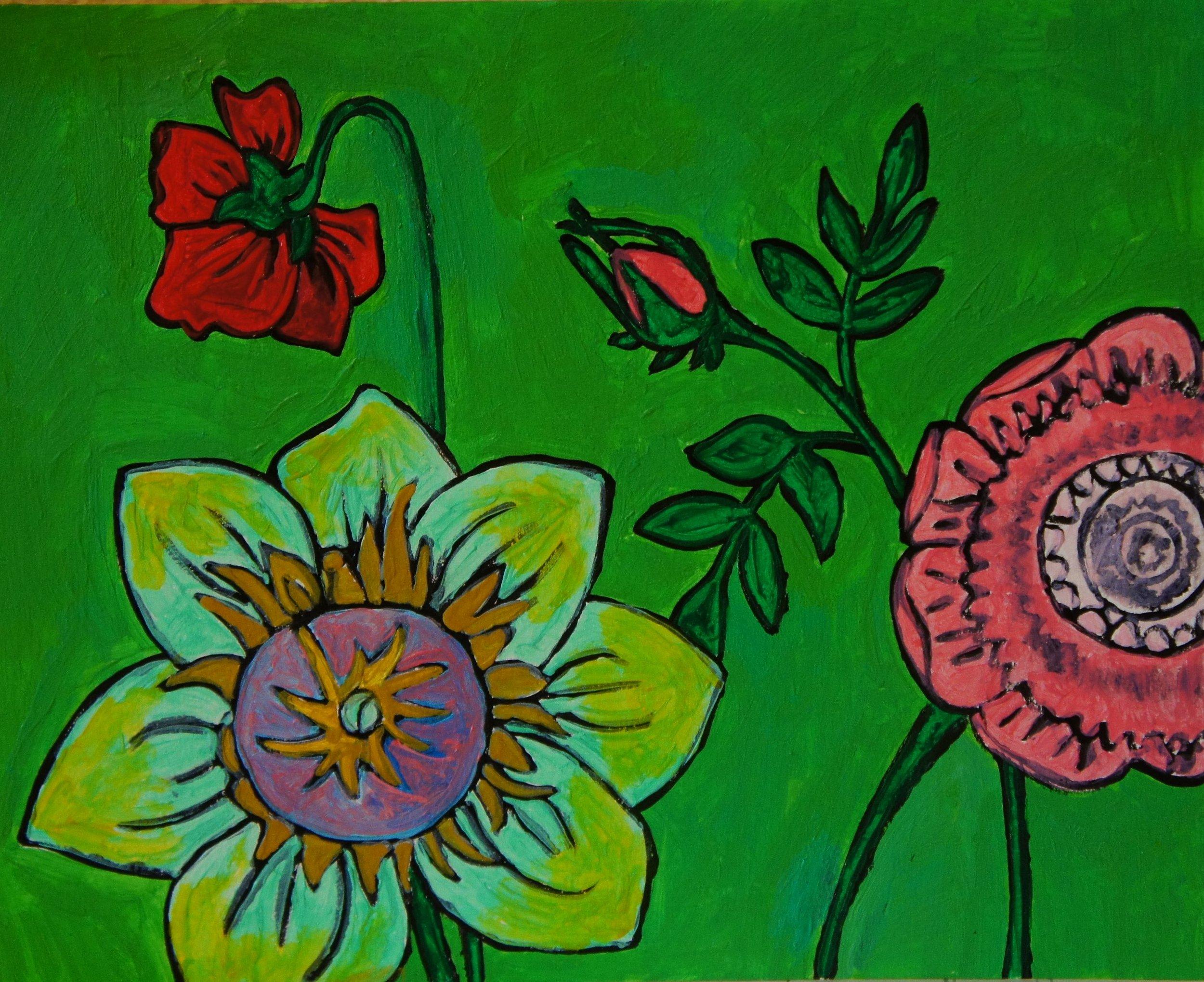 Vintage Flowers #3