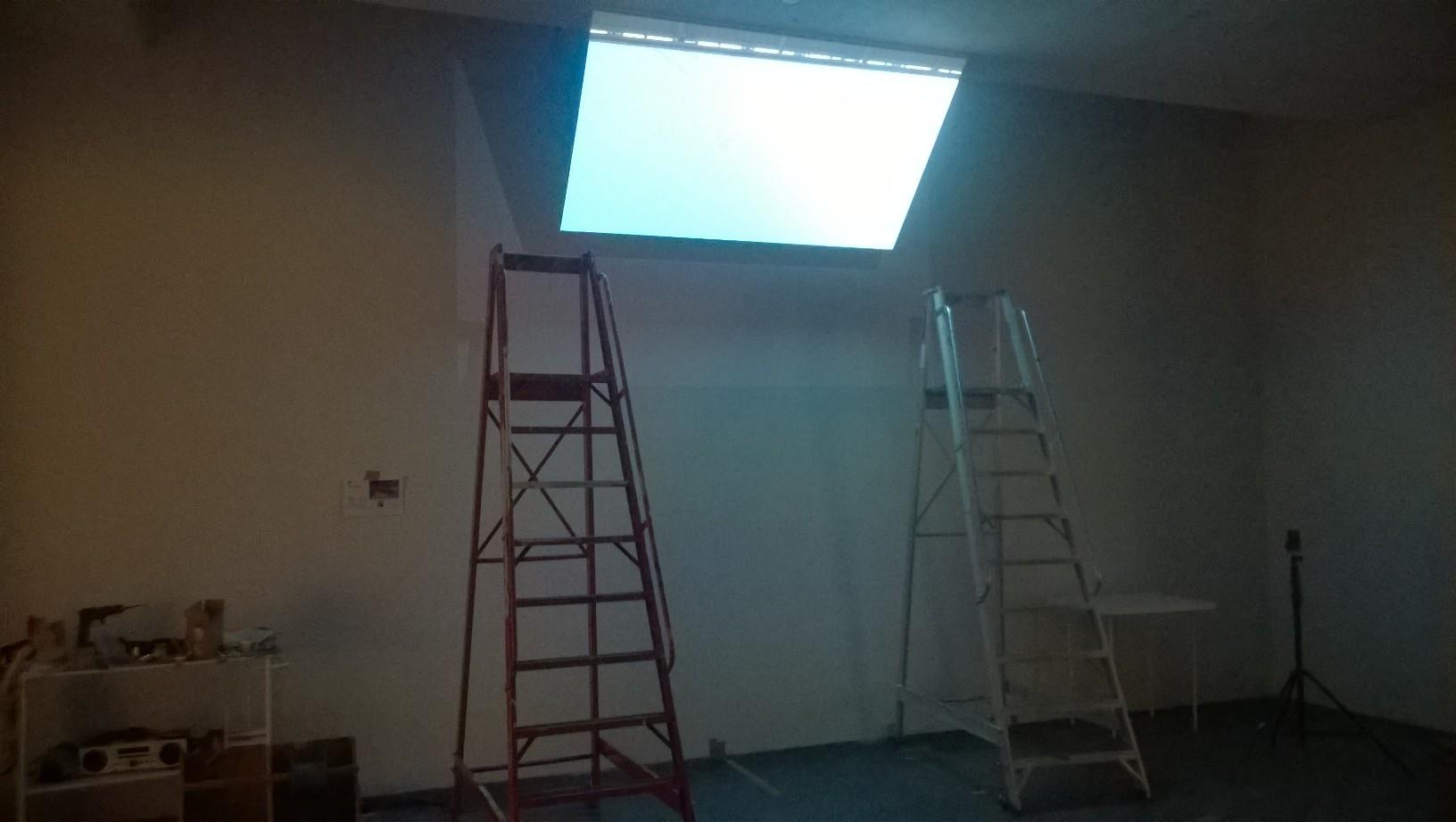 Semaphore , installation view, Kiasma Museum of contemporary art, Helsinki, January 2016