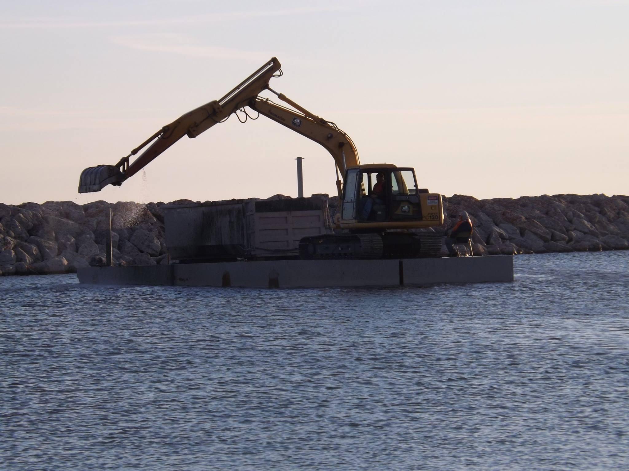 Dredging the Harbor