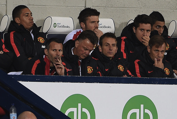 Louis Van Gaal was criticized early in his MUFC for a lack of touchline presence, preferring instead to take notes.