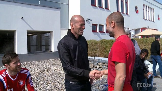 "That other coach, happens to be Pep Guardiola. Zidane, before taking over as the Real Madrid manager, observes and ""borrows"" from one of the best modern day coaches and clubs. It doesn't go too badly for him as he leads Real to back to back Champions League titles."