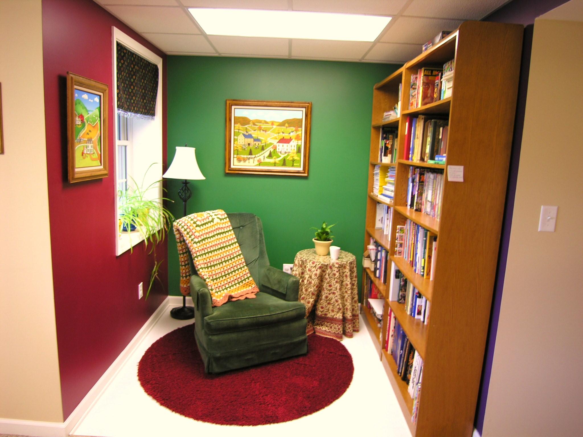 Basement Library.JPG