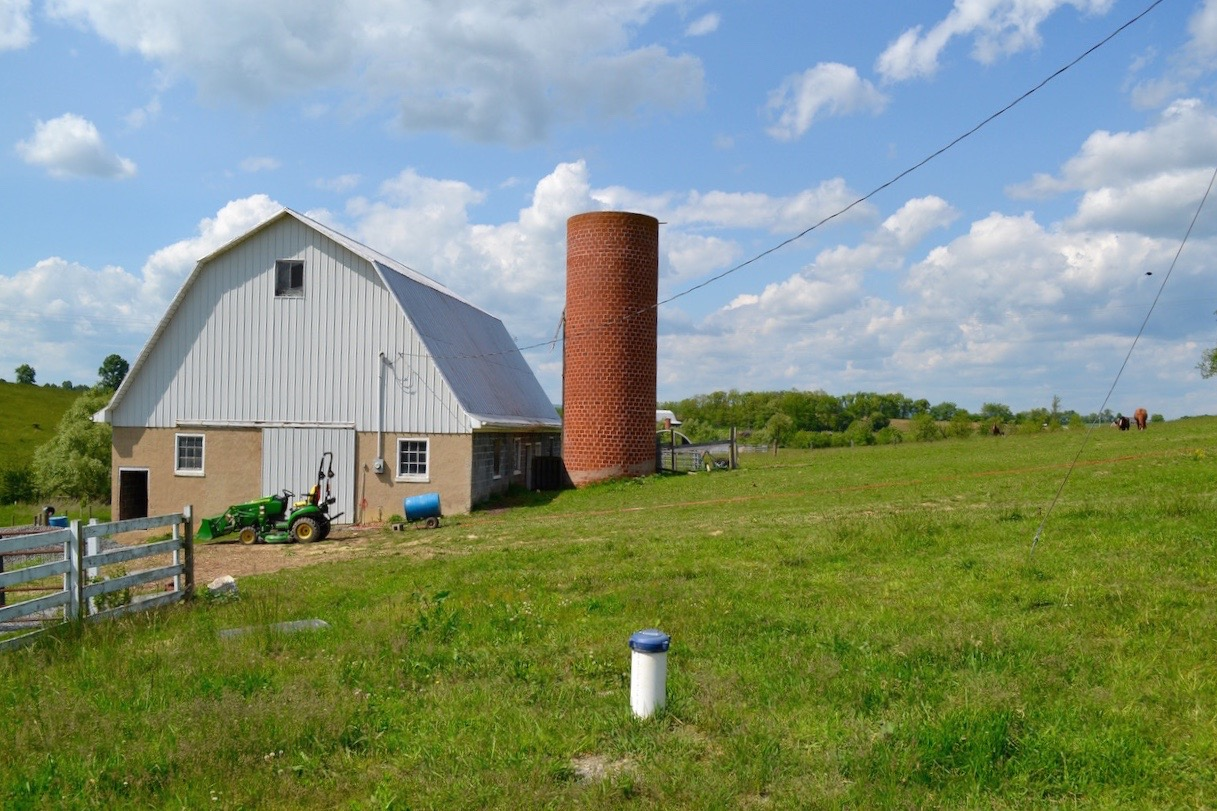 Barn, Well, and Silo.jpg