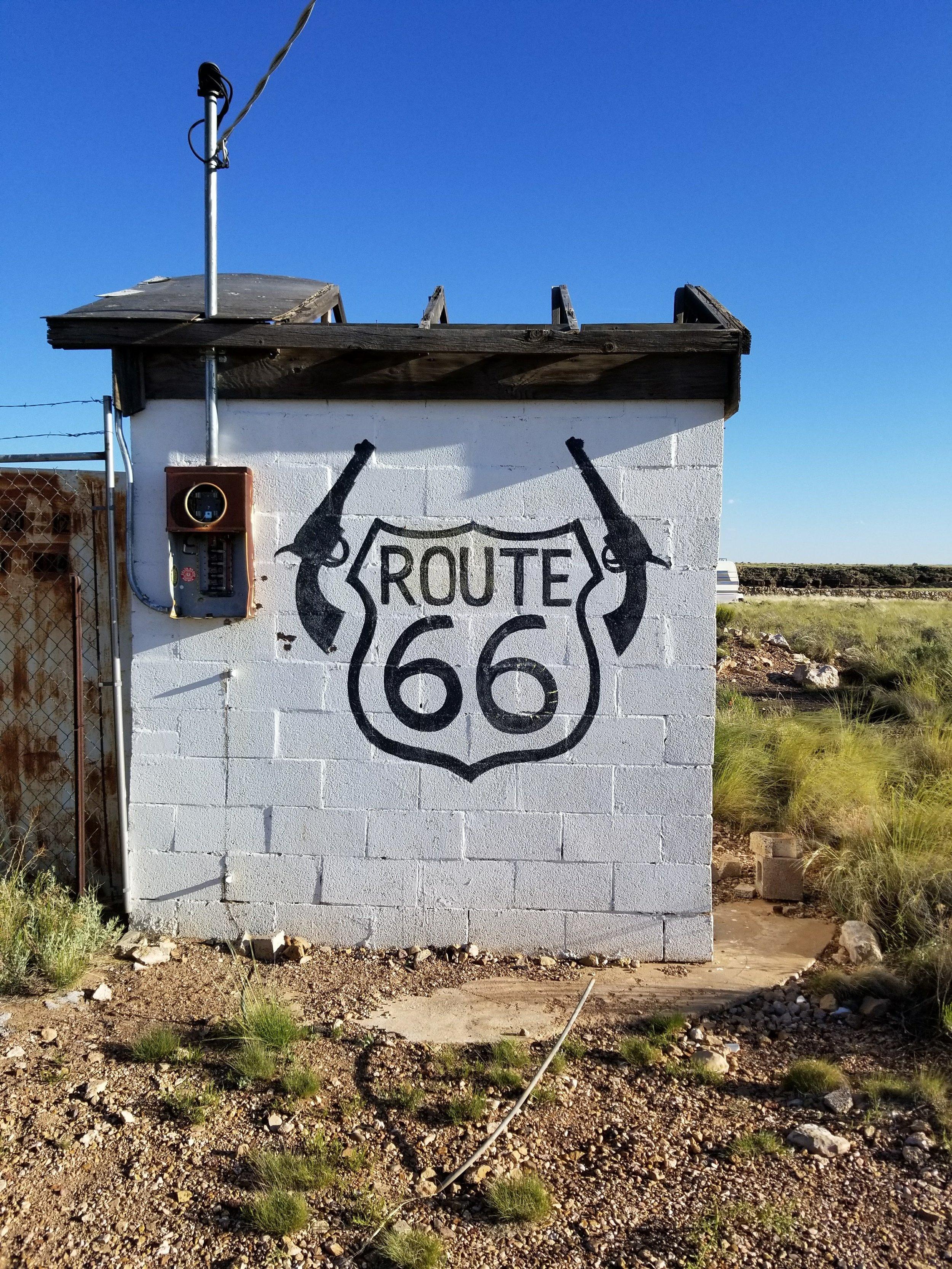 Wonder if there are any ghost in this ghost town?