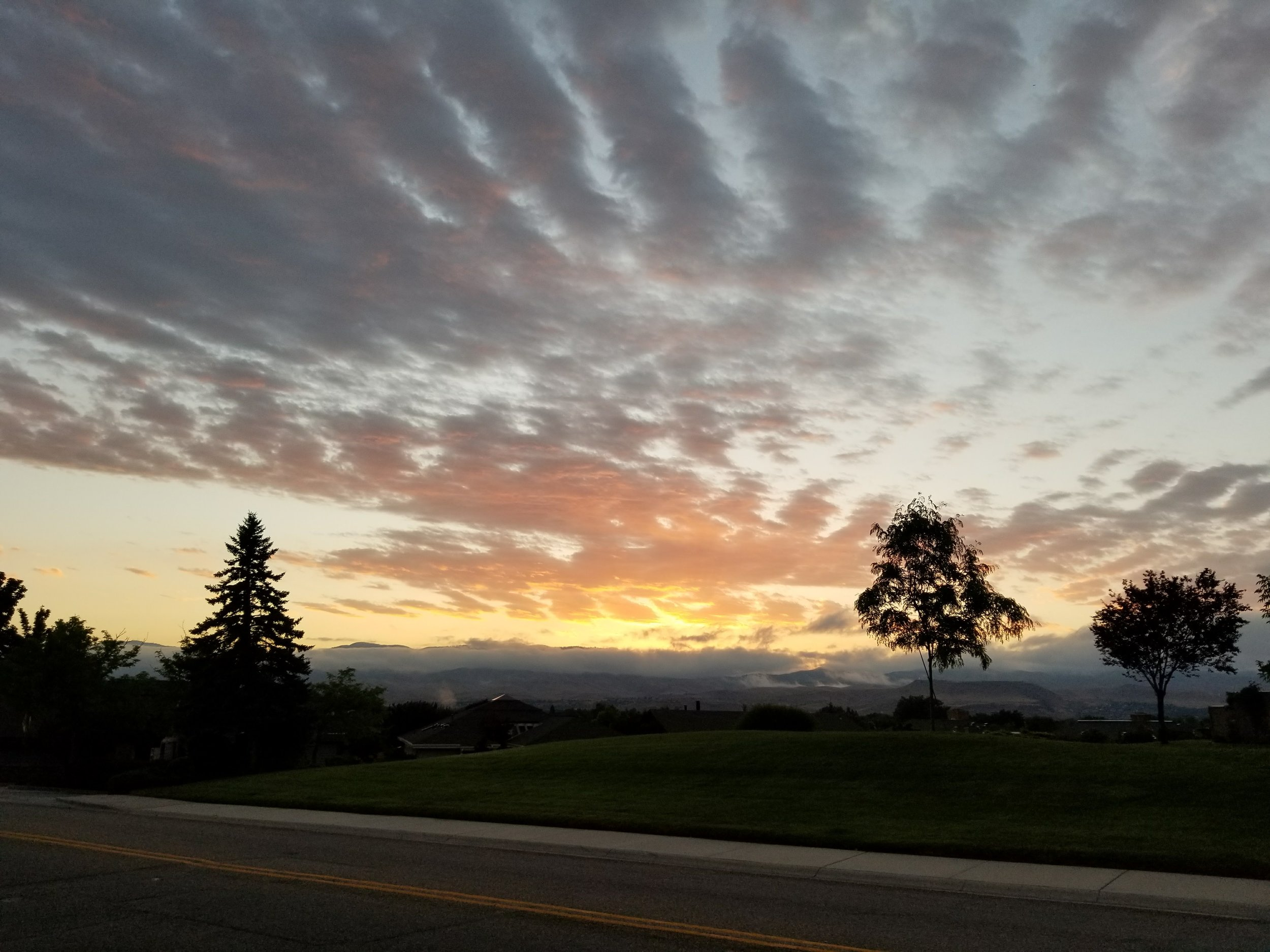 State #10 of RunExplore. Hello sunrise.