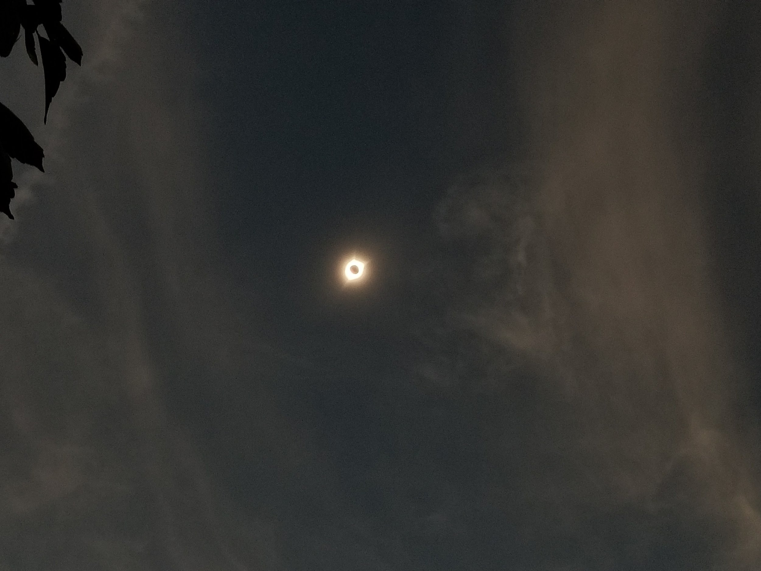 Because you haven't seen better photos of the eclipse, but we really were there. :)