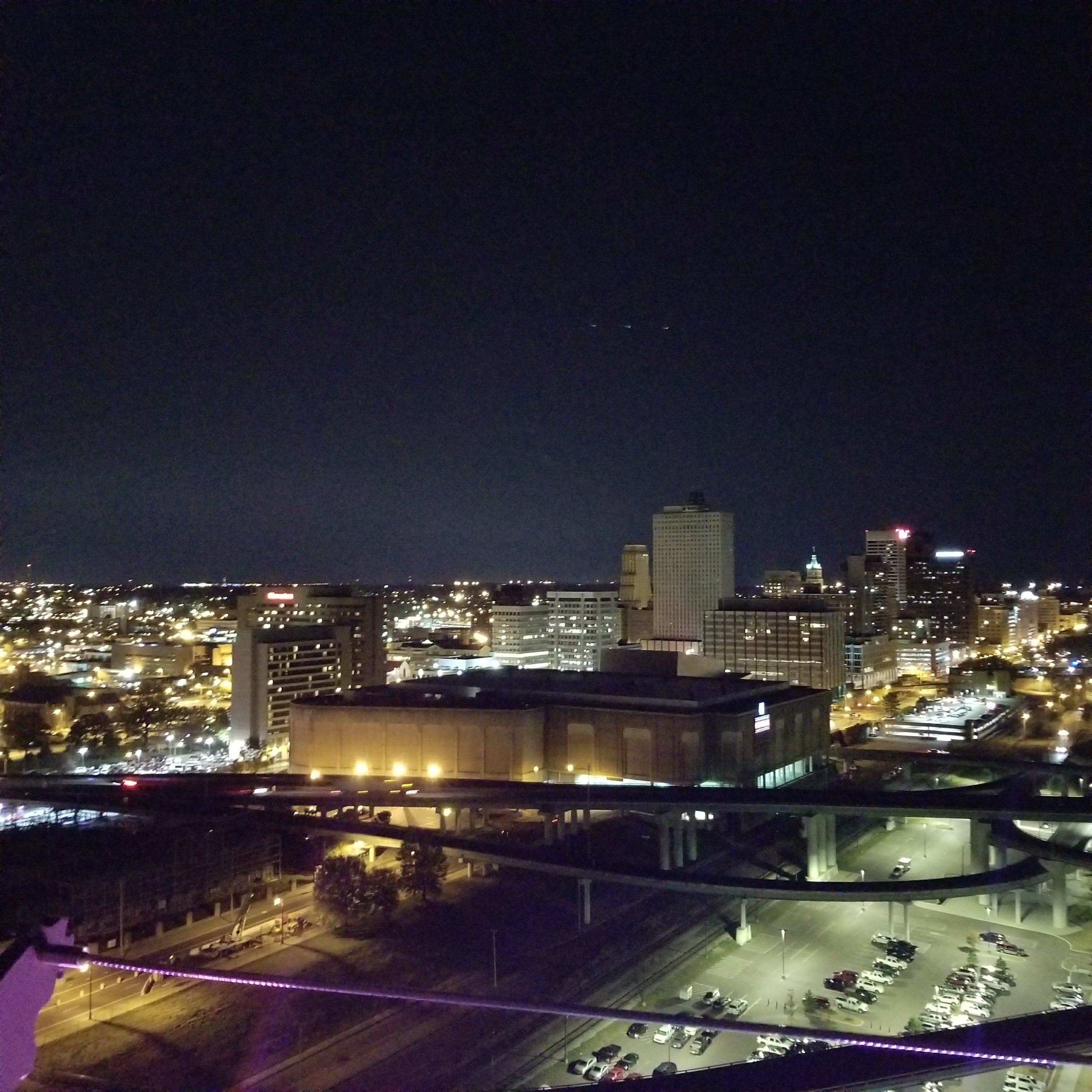 Memphis from above.
