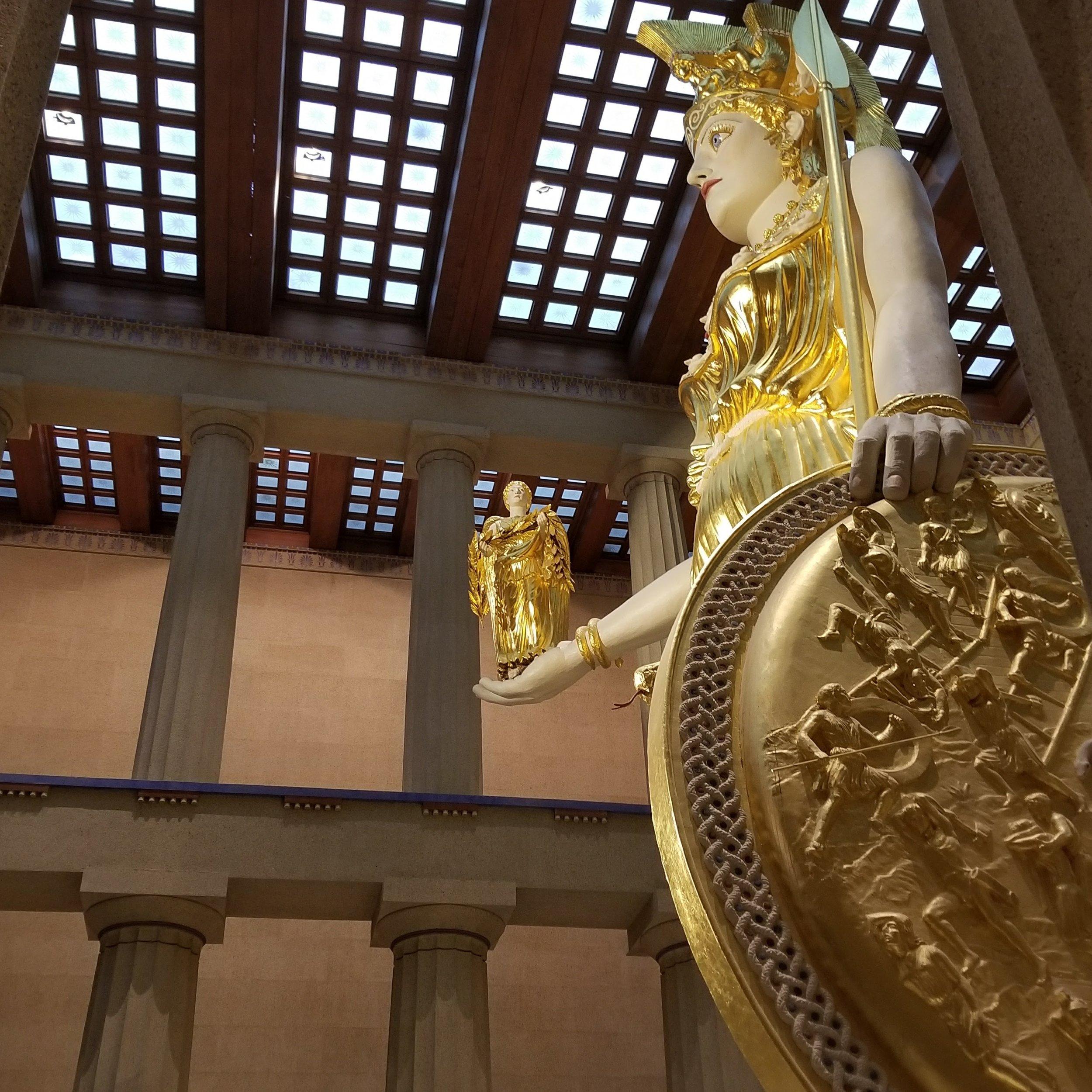 Athena and Nike