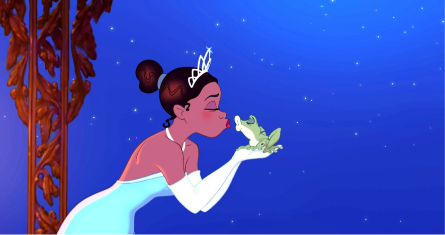 From Disney's   The Princess & the Frog   movie.