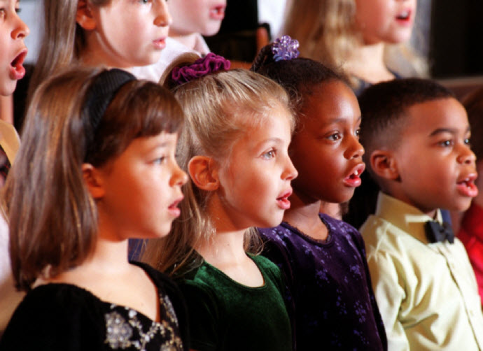 (Photo of the children's group Lake Norman Singers)