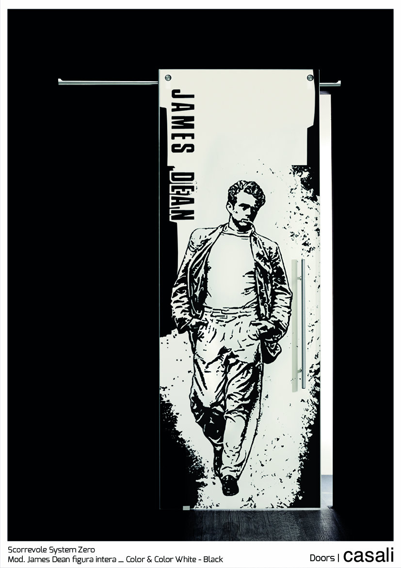 Scorrevole System Zero_mod.  James Dean figura intera_Color & Color White Black.jpg